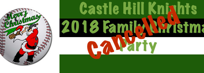 Castle Glen Closed – Christmas Party Cancelled