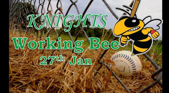 Working bee 27th Jan