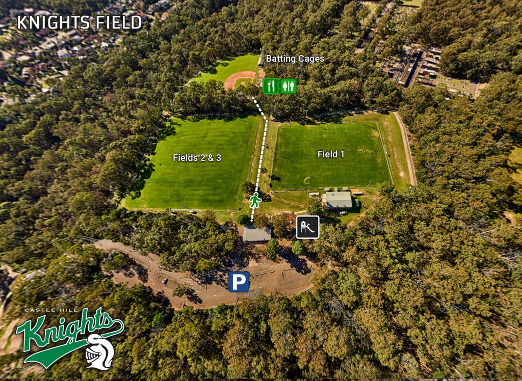 Knights Field - Castle Hill Knights Seniors Home Ground